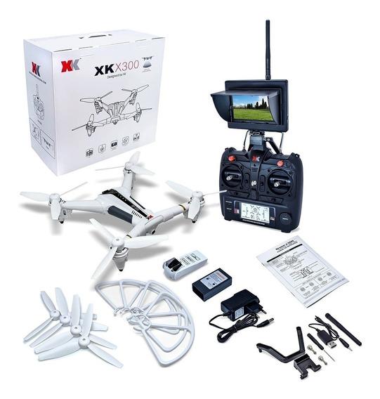 Drone X300 Camera Hd 720p Com Tela Display Sensor Optico