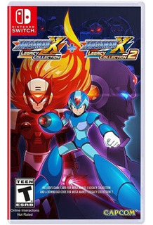 Megaman X Legacy Collection + X Legacy Collection 2 - Nuevo