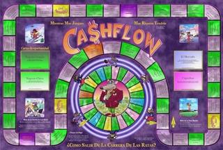 Cash Flow Juego De Mesa Imprimible + Pc 101 Y 102 + Libros