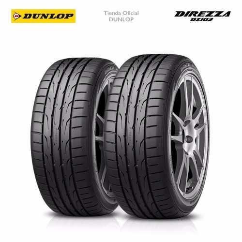 Kit X2 205/55 R15 Dunlop Direzza Dz102 + Tienda Oficial