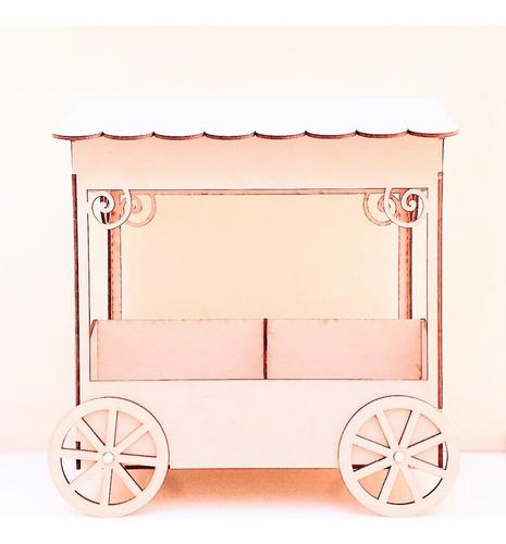 Imagen 1 de 8 de Candy Bar Kiosco Golosinero Souvenir - Mdf / Fibrofacil