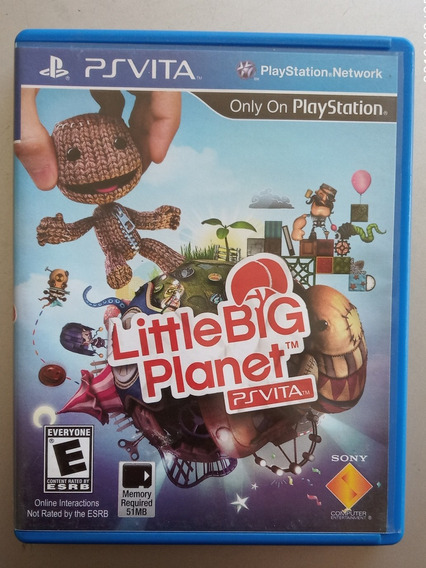 Little Big Planet Para Psvita