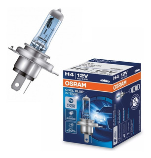 Lampara H4 Osram Cool Blue Intense 12v 55/60w +20% - Nolin