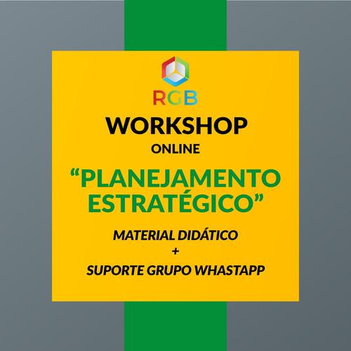 Imagem 1 de 1 de Workshop Online Sobre Planejamento Estratégico