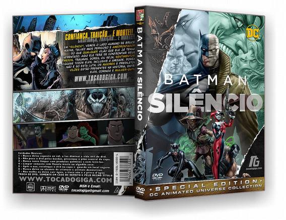 Batman Silêncio - Hush 2019 Dvd