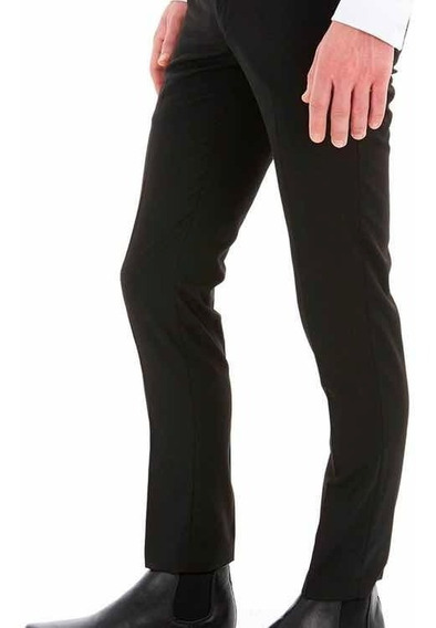 Pantalon De Vestir Zara Black Tag Extra Slim Fit