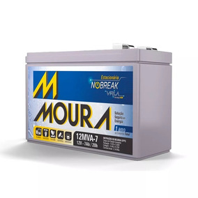 Bateria Selada Agm Moura 7ah 12v Brinquedo Nobreak Lanterna