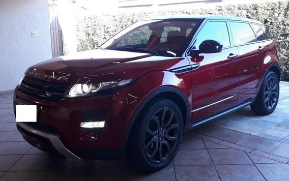 Land Rover Evoque Mod. Dynamic 5d I/lr Vermelho - Única Dona