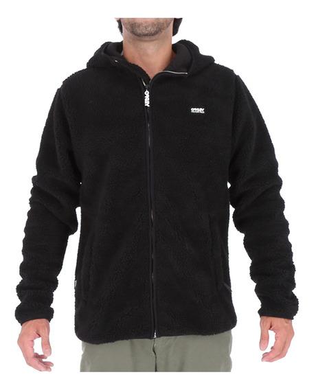Polar Oakley Hombre Sherpa Full Zip Black 1
