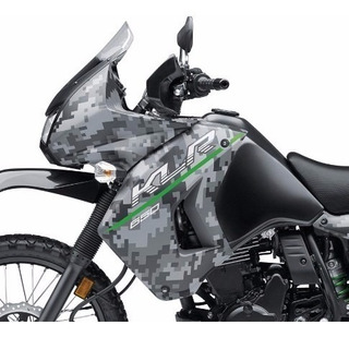 Rotulado Kawasaki Klr 650 Camo 2016 - 2017