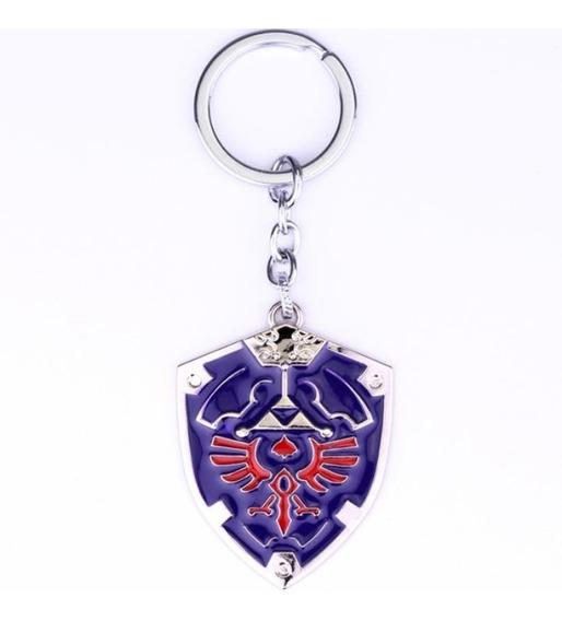 Llavero Escudo Hyliano Trifuerza Legend Zelda Link Shield