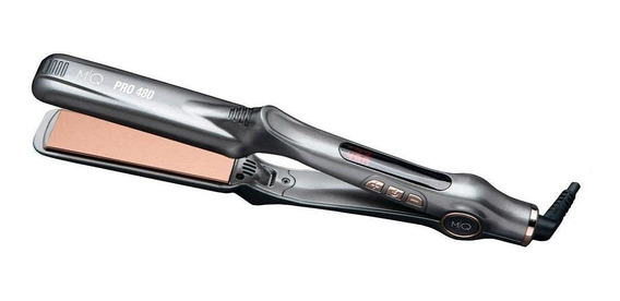 Prancha de cabelo MQ Professional Hair Styling Titanium Pro 480 chumbo com placas de titânio 110V/220V
