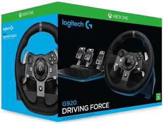 Volante + Pedal Logitech G920 Driving Force