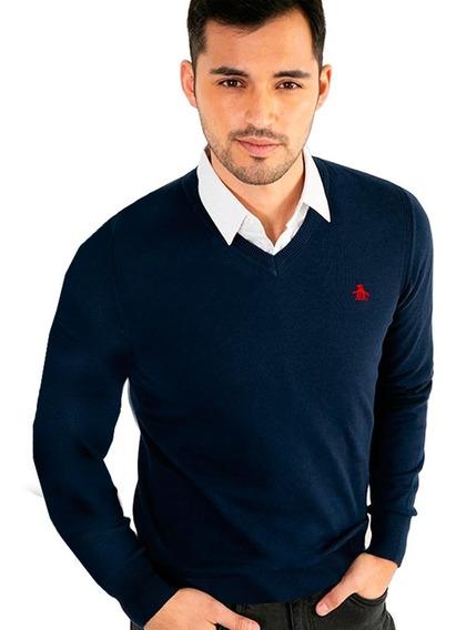 Sweaters De Hombre Lisos Pack X2 Penguin Envios A Todo Pais