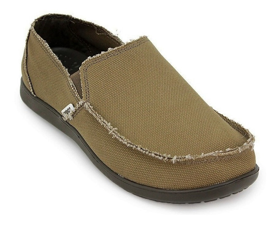 Crocs Santa Cruz Hombre Chocolate Original