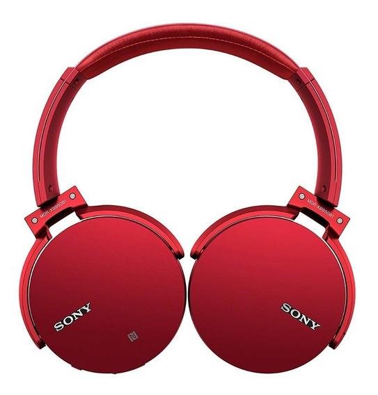 Fone Sony Mdr-xb950b1 Lacrado Garantia 12 Meses Vermelh