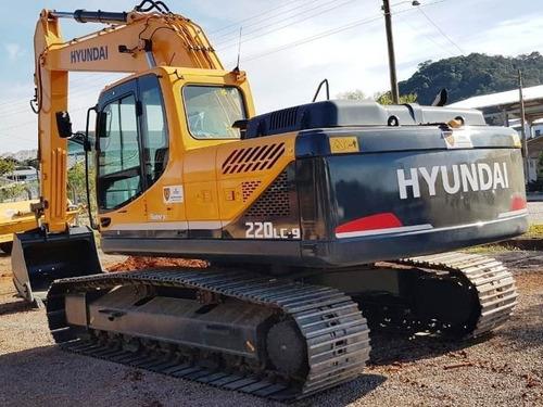 Escavadeira Hyundai 220lc 2019