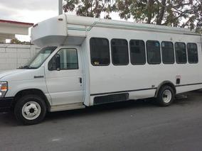 Ford Econoline Van Bus E 450 Mod 08 Color Blanco, 20 Pas.