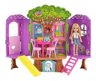 Barbie Club Chelsea Casa Muñecas Juguete Niñas