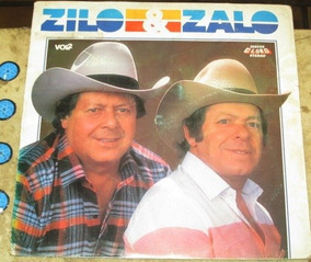 Lp Zilo E Zalo - Volume Vol 2 (1987) Discos Globo