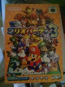 Mario Party Nintendo 64 1, 2 E 3 Originais E Na Caixa