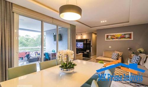 Imagem 1 de 15 de Apartamento 123m² Com 3 Dormitórios Sendo 1 Suíte Em Alphaville!! - 2101