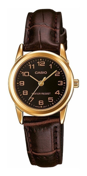 Reloj Casio Ltp-v001gl-1b Mujer Analógico