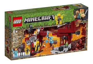 Lego Minecraft The Blaze Bridge 21154 370p Aleslafer Juguete
