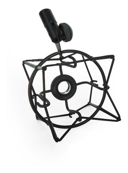 Soporte Araña Para Microfono De Condensador Metalica