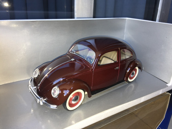 Volkswagen Fusca 1950 Janela Bipartida Solido 1:18 Ñ Schuco