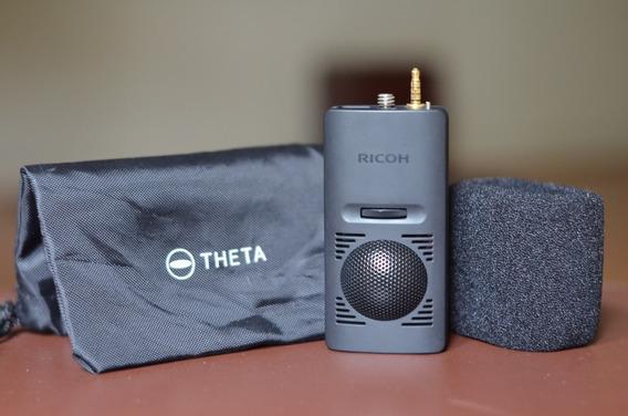 Ricoh Theta V 360 3d Microfone Ta-1