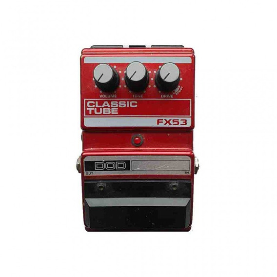 Pedal Classic Tube - Dod Fx53 (overdrive Distortion Boost)