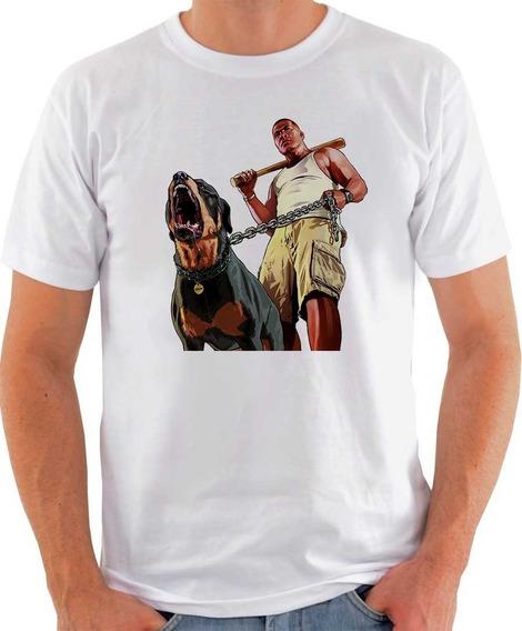 Camiseta Gta5 - Várias Estampas