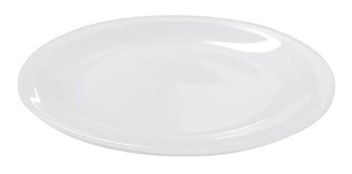 6 Platos De Postre 19 Cm Porcelana Tsuji Linea 450