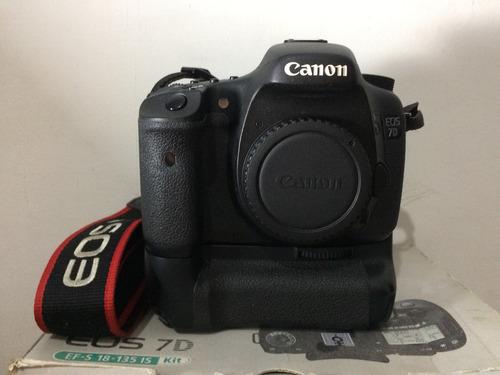 Canon 7d Corpo