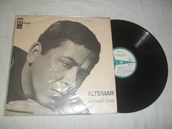Lp Vinil - Altemar Dutra - Sentimental Demais