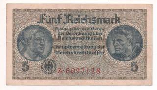 Billete Antiguo De Alemania 1940 Germany