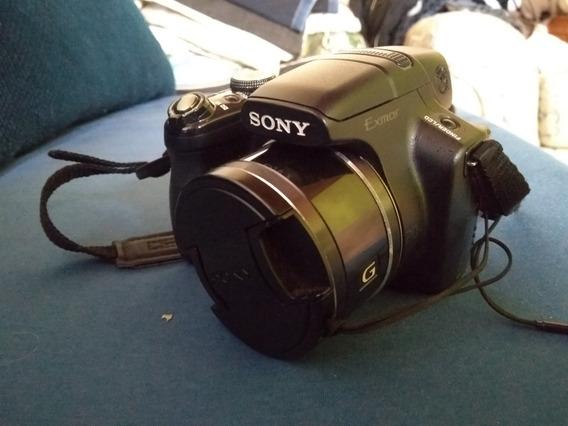 Câmera Sony Hx1 + Carreg. E Bat. Orig + Cartão Memória