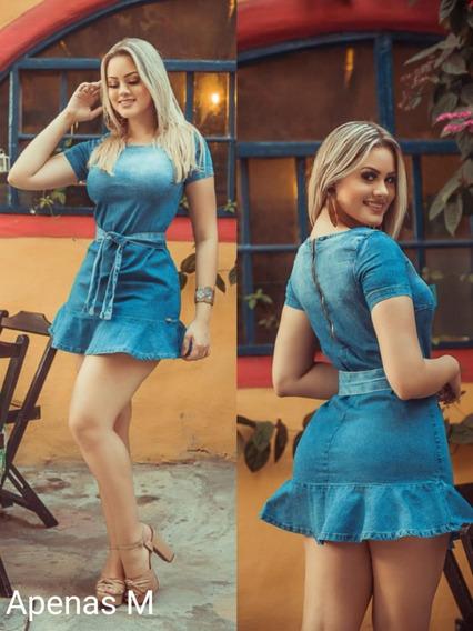 Vestido Jeans Curto - Blogueira - Tendência Primavera Verão