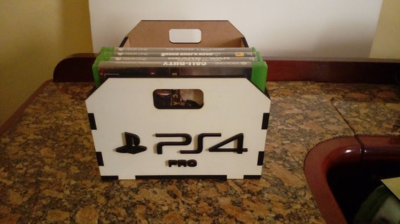 Porta Games, Case, Caixa, Estojo Para Games Ps4, Xbox, Xone