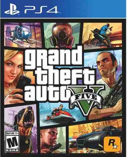 Juego Ps4 Grand Theft Auto V Gta V
