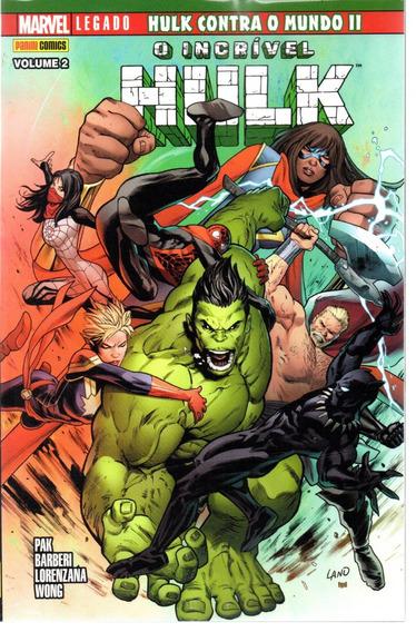O Incrivel Hulk 02 Panini 2 - Bonellihq Cx311 D19