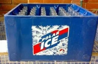 Cajas De Cervezas Polar Vacios 40 Cajas Todos Con Sus Botell