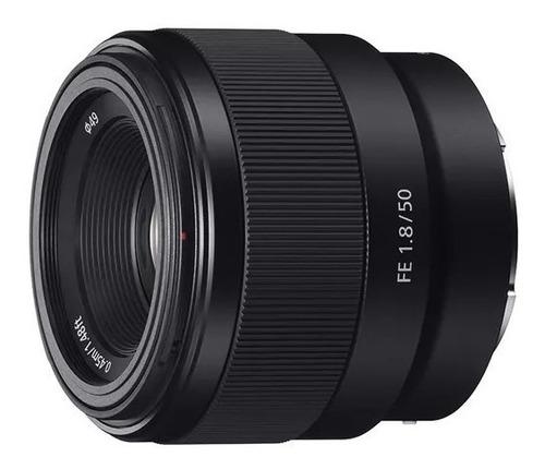 Lente Sony  Fe 50mm 1.8 / Sel50f18f / 50mm 1.8