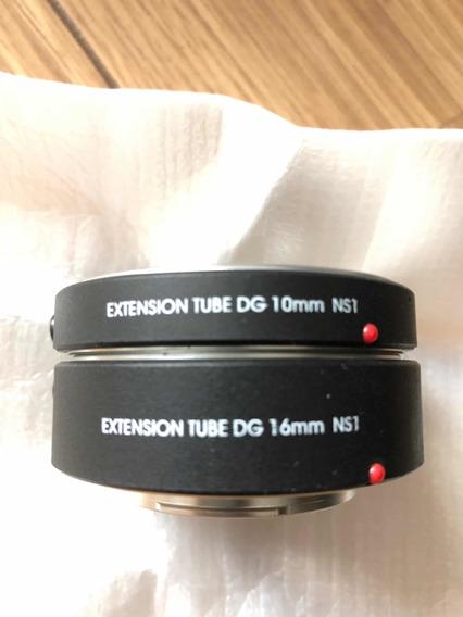 Tubo Extensor Af Macro Para Câmeras Nikon 1 Como J1, J2, V1