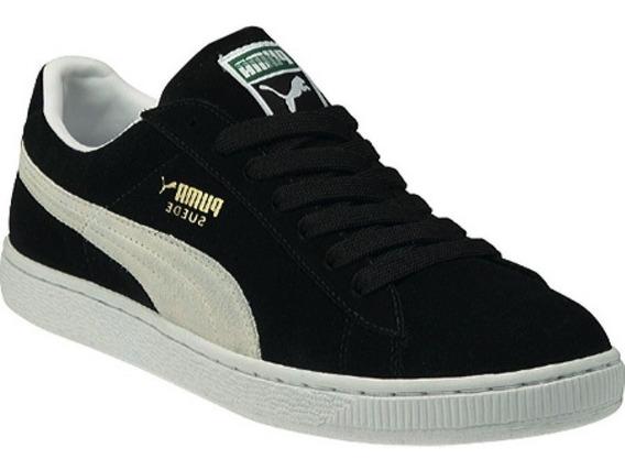 Tênis Puma Suede Preto Black Original Pronta Entrega