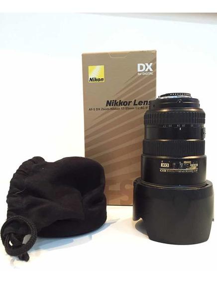 Lente Nikon 17-55mm F/2.8