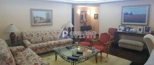 Apartamento À Venda, 4 Quartos, 1 Suíte, 3 Vagas, Gávea - Rio De Janeiro/rj - 22683