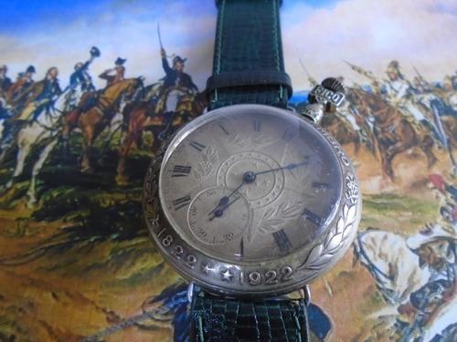 Relógio Antigo Comemorativo 100 Anos Independencia Brasil