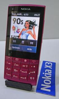 Celular Nokia X3-02 Touch ( Desbloqueado ) Nuev0 + Regalitos